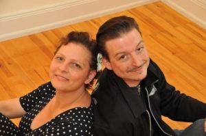 Unser Trainerpaar: Anja und Roland Bandorf